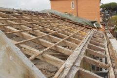Demolizione e rifacimento tetto