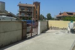 6 Demolizione e ricostruzione muro di confine in c.a.